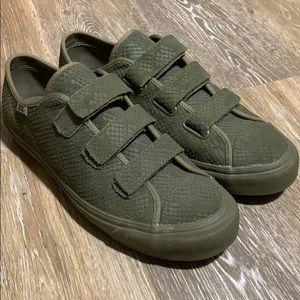 🔥Vans Velcro shoes Men's Sz 10.5 women's Sz 12🔥